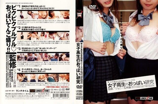 新・女子校生の自由研究シリーズ3 女子校生のおっぱい研究